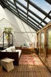 緩和されたガラスの屋根のアルミニウム日曜日部屋のSunroom/ガラス家の収容