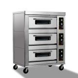Backen-Maschine, kommerzieller elektrischer Pizza-Ofen, Plattform-Pizza-Ofen