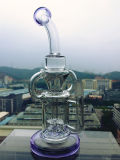 7mm 유리 현미경 모형 로켓 Perc를 가진 연기가 나는 수관