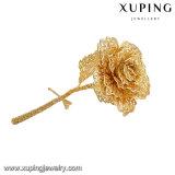 도금되는 24k 금에 있는 어머니날 로즈 꽃을%s 형식 최고 선물