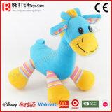 Brinquedo macio animal enchido do cavalo do bebê do luxuoso