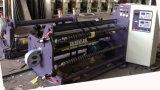 Máquina rebobinadora cortadora longitudinal para el papel