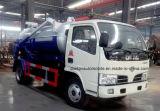 4X2 4000 L 진공 트럭 판매를 위한 트럭 4 톤 하수 오물 흡입