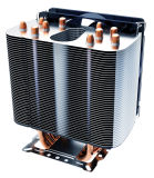 Радиатор C.P.U. Ccr6a с медной трубой жары с утверждениями