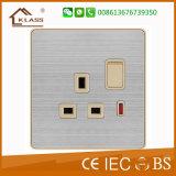 Material de aço inoxidável 32A Water Heater Wall Switch