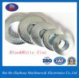 ISO Nfe25511 sondern seitlicher Zahn-flache Stahlfederscheibe aus