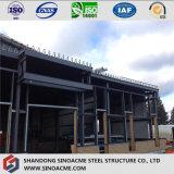 El bastidor de acero prefabricados Almacén con pared de ladrillos