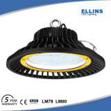 Алюминиевый корпус IP65 UFO 200Вт Светодиодные лампы отсека высокого 130 lm/W