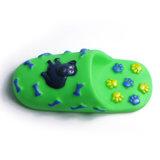 Het Kauwen van de pantoffel het Stuk speelgoed van het Huisdier van het Stuk speelgoed van de Hond