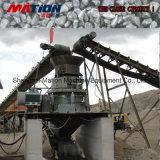 川の砕石機、小石の砂利の生産ライン
