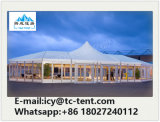 Tienda los 20m de lujo al aire libre del banquete de boda de la estructura de la mezcla del nuevo diseño