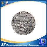 Монетка промотирования возможности высокого качества глянцеватая серебряная