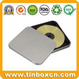 金属のDVDのケースの包装のための吊り鎖が付いているCD錫ボックス