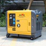 Tipo silenzioso generatore diesel della garanzia raffreddata ad aria da 1 anno del fornitore BS6500dsea 6kw 6kVA del generatore del bisonte (Cina) di 6000W per la casa