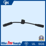 3pin impermeabilizan el cable con la C.C. y el conector femenino