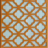 Алюминиевое плакирование с вырезыванием CNC для нутряного & экстерьером декоративным