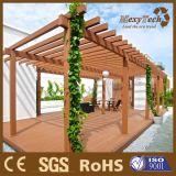 Pérgola al aire libre compuesta plástica de madera modificada para requisitos particulares de WPC