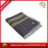 Coperta eccellente di lavoro a maglia del panno morbido di qualità dei reticoli con la casella