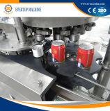 Automatische Vullende van het Blik van het Tin en Verzegelende Machine