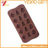 Moulage de chocolat de silicones de moulage de gâteau de silicones de thème de Noël/moulage glace de silicones