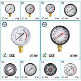 Gaz ou liquide de pression d'indicateur de la pression 009 normale