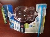 5kw Selbst-Schwenktisch drei Arbeitsplatz-Blasen-Verpackungsmaschine/Dichtungs-Maschine