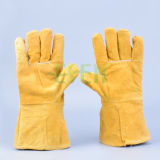 Перчатки заварки/перчатка безопасности кожаный/перчатки кожи работы работая