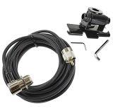 Support de clip de véhicule d'antenne avec le câble d'antenne
