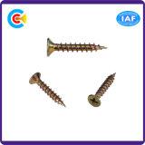 Carbon-Steel DIN/ANSI/BS/JIS/Stainless-Steel перекрестные винты Ountersunk головные деревянные для Railway/машинного оборудования/индустрии /Fasteners