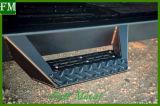 Jkのジープのラングラー07-17 2&4doorのための無光沢の黒い側面ステップ棒