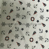 80% Nylon 20% Tecido de impressão Spandex para roupas esportivas