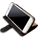 Всеобщая франтовская фабрика случая телефона Clamshell случая кожи типа бумажника телефона