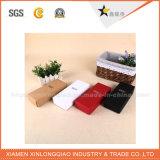 Rectángulo de empaquetado de papel de encargo de la fábrica para el regalo
