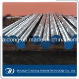 aço de ferramenta quente do trabalho 1.2581/H21/SKD5/3Cr2W8V, barra redonda lisa