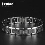 Bracelet en tungstène personnalisé à la mode pour hommes avec germanium OEM Acceptable