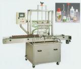 Машина для прикрепления этикеток машины завалки масла автоматического поршеня линейная