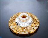 황금 격판덮개를 가진 E27 램프 홀더의 유형