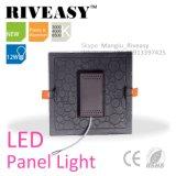 alta qualidade fina quadrada da luz de painel do diodo emissor de luz 12W