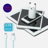 chargeur de téléphone mobile de cadeau de Noël de côté de pouvoir de Samo de la mode 5200mAh