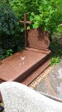 Pietra tombale rossa/Monumentt/Headstone del granito della Polonia Europa
