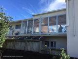Fenêtre à vantail en aluminium laminé en verre stratifié anti-vol