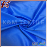 Polyester-blaue Satin-Art-Rohseide 100%