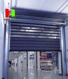 Алюминиевые спиральн высокоскоростные свертывают вверх дверь штарки