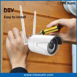 Cámara sin hilos del IP del CCTV de Digitaces del punto negro del OEM 4MP con la tarjeta de 16g SD