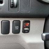 トヨタ/ホンダのための電圧計を持つUSBの充電器