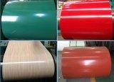 PPGI, colore ricoperto ha galvanizzato la bobina d'acciaio preverniciata del galvalume della lamiera di acciaio