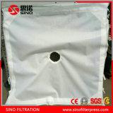 Prensa de filtro de cerámica con 800mm redondo placa filtrante