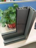 Il portello di alluminio di Sliidng di serie di Ha100mm con il doppio ha lustrato