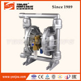 Qby SS304 PTFEのテフロンAnti-Corrosion空気によって作動させる(空気の)二重ダイヤフラムポンプ