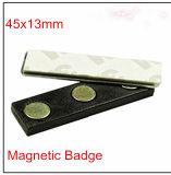 Sicurezza della fabbrica e distintivo magnetico del forte di potere neo supporto del magnete